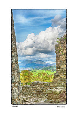 Photograph - Harlech View by R Thomas Berner