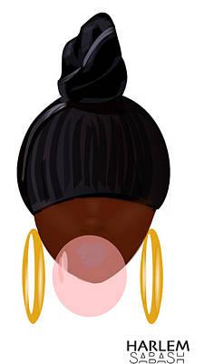 Harlem Pop Art Print by Sabash Hq