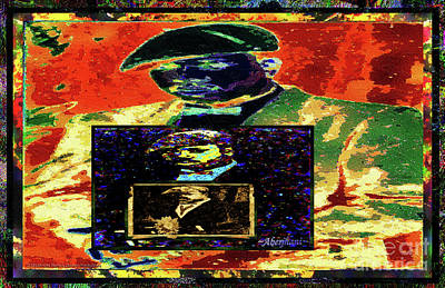 Mixed Media - Harlem Renaissance Deja Vu Number 1 by Aberjhani