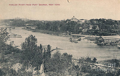Photograph - Harlem River From Fort George  by Cole Thompson