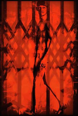 Digital Art - Harlequin - 2/10 by John Waiblinger
