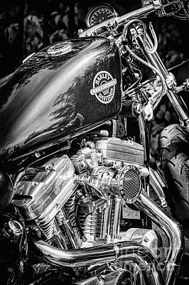Photograph - Harley Sportster by Tim Gainey