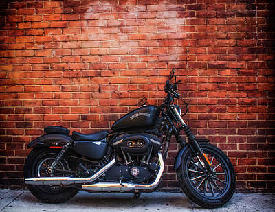 883 Photograph - Harley 883 by GeeLeesa Productions