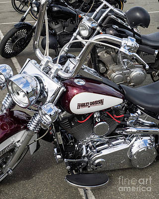 Photograph - Harley Chrome 01 by Rick Piper Photography