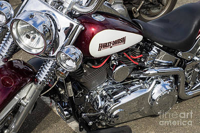 Photograph - Harley Chrome 03 by Rick Piper Photography