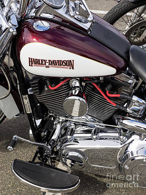 Photograph - Harley Chrome 05 by Rick Piper Photography
