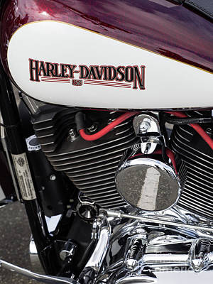 Photograph - Harley Chrome 06 by Rick Piper Photography