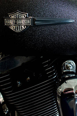 Photograph - Harley Dagger Tank V2 by Rospotte Photography