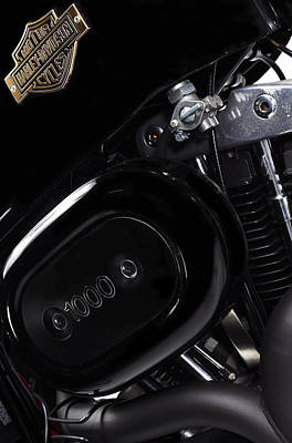 Harley Davidson Photograph - Harley Davidson 1000 by Mark Rogan