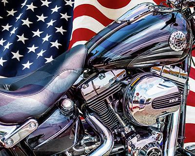 Photograph - Harley-davidson 103 - B by Gene Parks