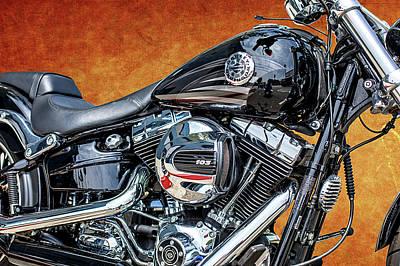 Photograph - Harley-davidson 103 by Gene Parks