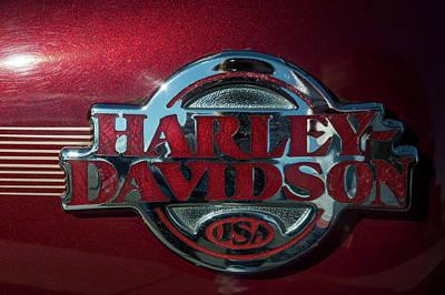 Harley Davidson 12 Art Print