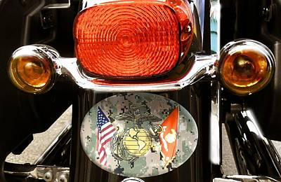 Photograph - Harley Davidson 14 by Marcello Cicchini