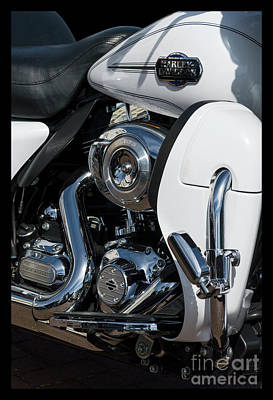 Art Print featuring the photograph Harley Davidson 15 by Wendy Wilton
