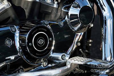 Photograph - Harley Davidson 17 by Wendy Wilton