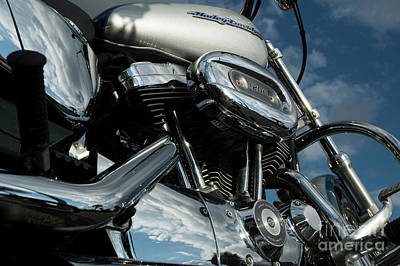Photograph - Harley Davidson 19 by Wendy Wilton