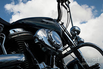 Photograph - Harley Davidson 21 by Wendy Wilton