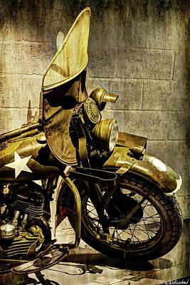 Photograph - Harley Davidson 42 Wla - II by Weston Westmoreland