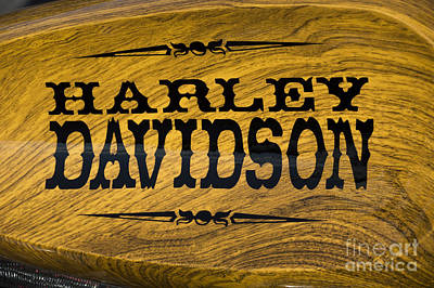 Photograph - Harley Davidson 6 by Wendy Wilton