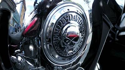 Photograph - Harley Davidson 7 by Marcello Cicchini