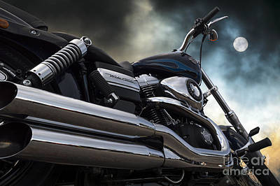 Photograph - Harley Davidson 8 by Wendy Wilton