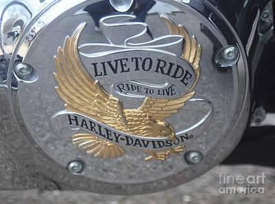 Harley Davidson Accessory Art Print