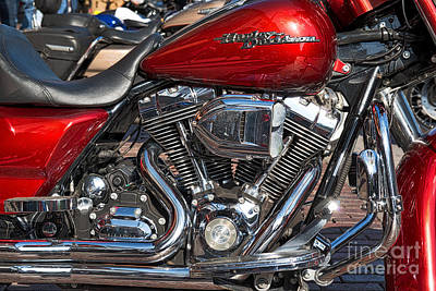 Motorcycle Photograph - Harley Davidson Bike by Tod and Cynthia Grubbs