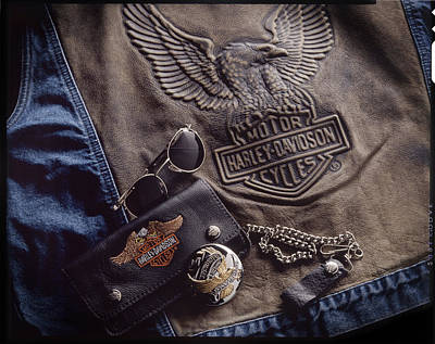 Photograph - Harley Davidson by Bud Simpson