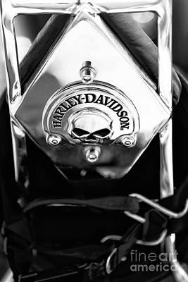 Photograph - Harley Davidson Chrome by John Rizzuto