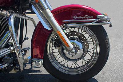 Photograph - Harley Davidson Heritage Softail by Carlos Diaz