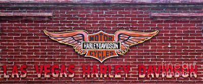 Photograph - Harley Davidson In Las Vegas by Steven Parker