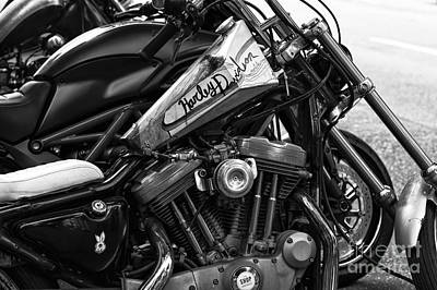 Photograph - Harley Davidson In Vancouver by John Rizzuto