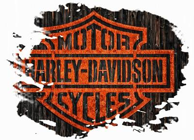Photograph - Harley Davidson Motorcycles 10 by Jean Francois Gil