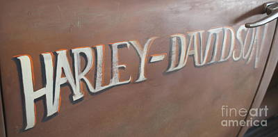 Photograph - Harley-davidson by Pamela Walrath