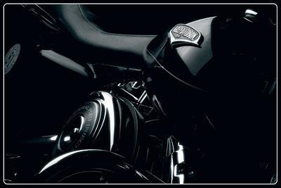 Harley-davidson Photograph - Harley-davidson Road King Classic by Laszlo Toth
