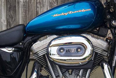 Photograph - Harley Davidson Series 03 by Carlos Diaz