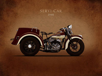 Harley Davidson Photograph - Harley Davidson Servi-car by Mark Rogan