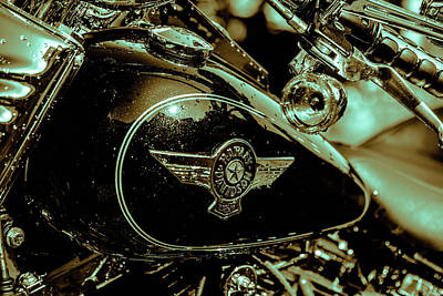 Photograph - Harley Davidson  by Sherman Perry