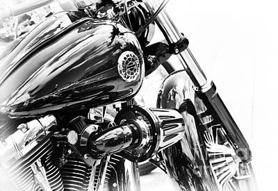 Custom Harley Davidson Photograph - Harley Davidson Softail Breakout by Tim Gainey
