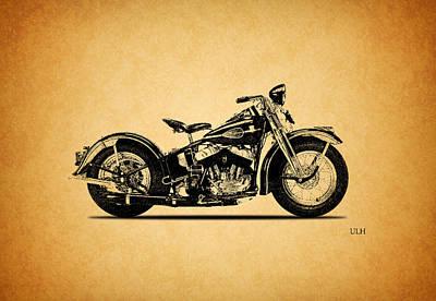 Harley Davidson Photograph - Harley Davidson Ulh 1941 by Mark Rogan