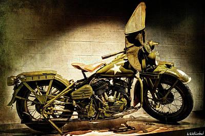 Photograph - Harley Davidson Wla 1942 - IIi by Weston Westmoreland