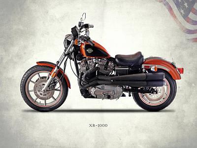 Harley Davidson Photograph - Harley Davidson Xr-1000 by Mark Rogan