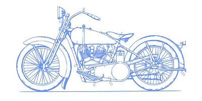 Sports Digital Art - Harley Davinson.1 by Alberto RuiZ