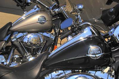 Corky Willis And Associates Atlanta Photograph - Harley Duo by Corky Willis Atlanta Photography