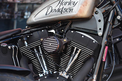 Anthony Davidson Photograph - Harley Heaven by Anthony Robinson