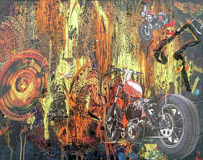 Reverie Mixed Media - Harley by Megan Henrich