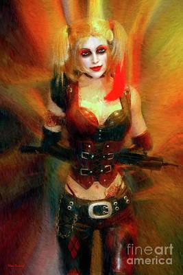 Photograph - Harley Quinn by Blake Richards
