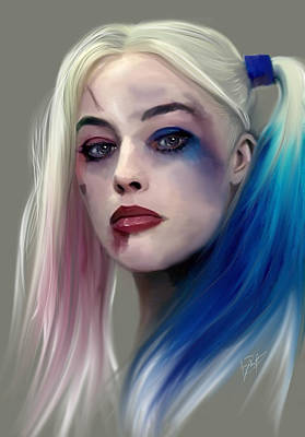 Harley Quinn Print by Jason Longstreet