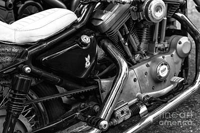 Photograph - Harley Seat by John Rizzuto