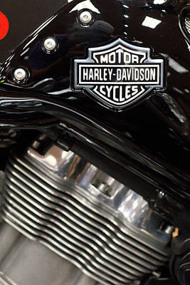 Photograph - Harley Silver 111516 by Rospotte Photography